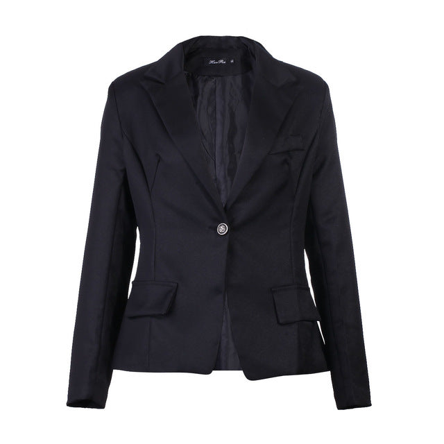 Women Casual Business Jacket Size S-3Xl