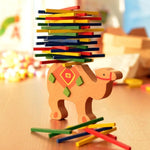 Balancing Wooden Educational  Math Toy