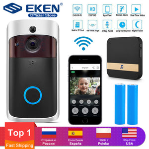 WIFI Doorbell Smart IP Video Intercom