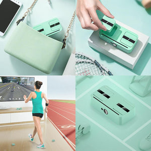 Mini Portable Treadmill Perfect for the Office and Bad Weather