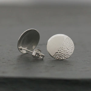 Half Stippled Domed Studs