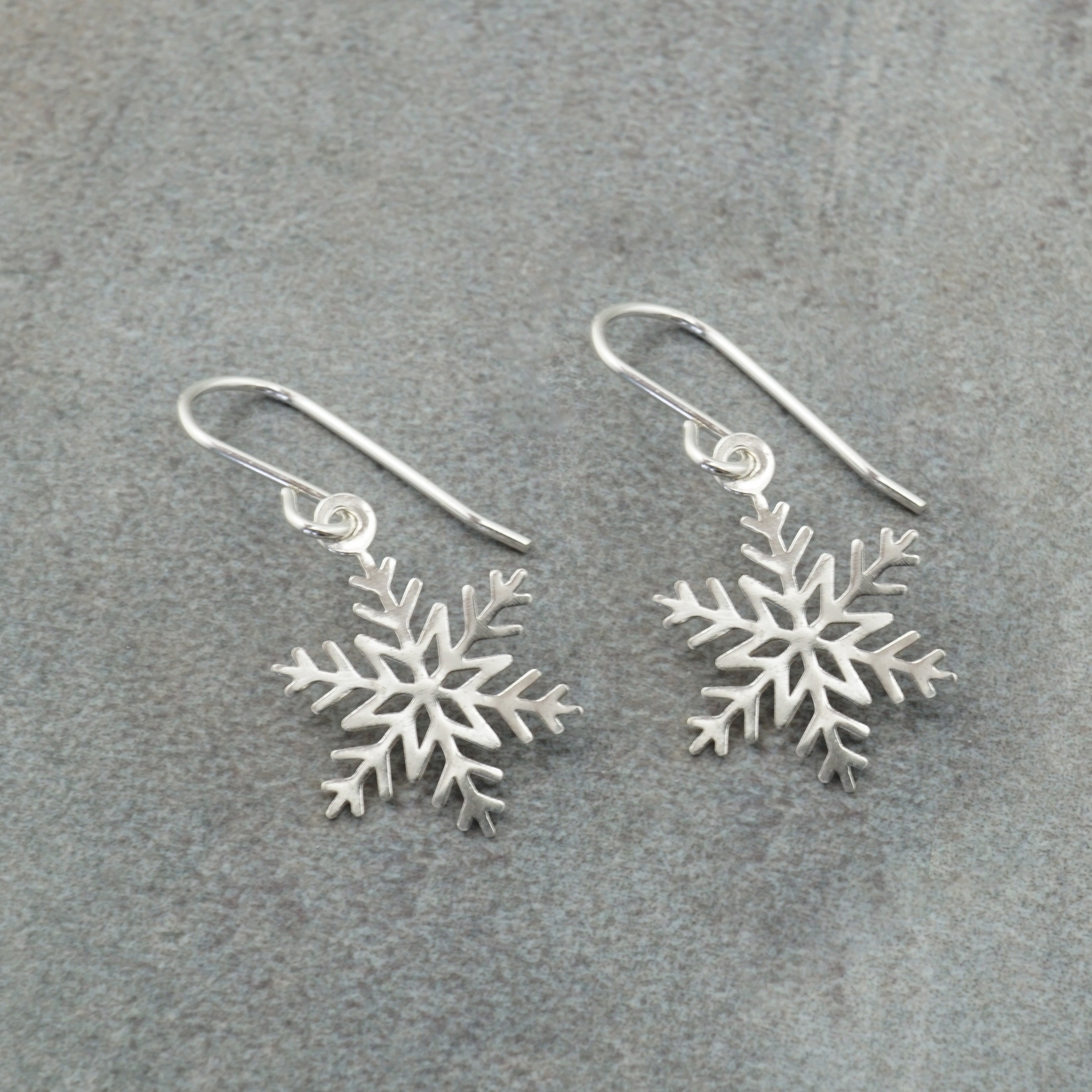 Star Snowflake Earrings