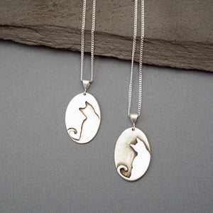 White Cat Pendant
