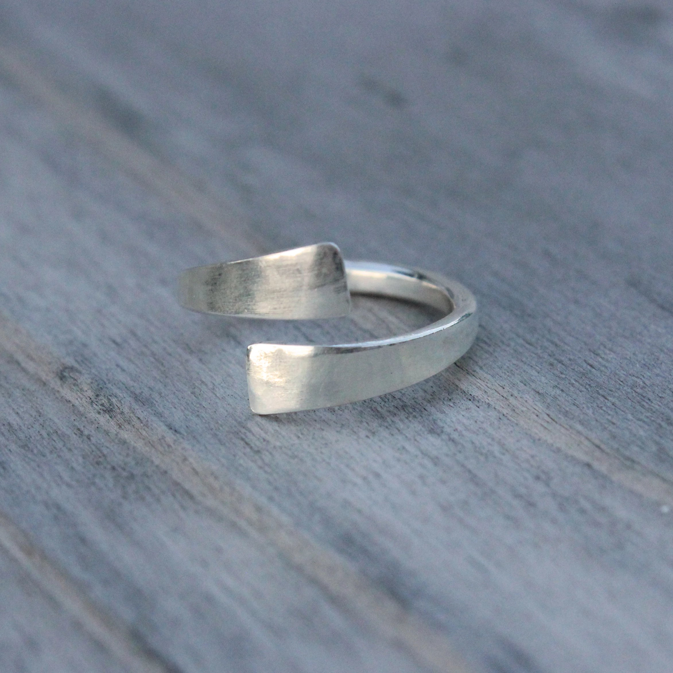 Open Flat Forged Ring