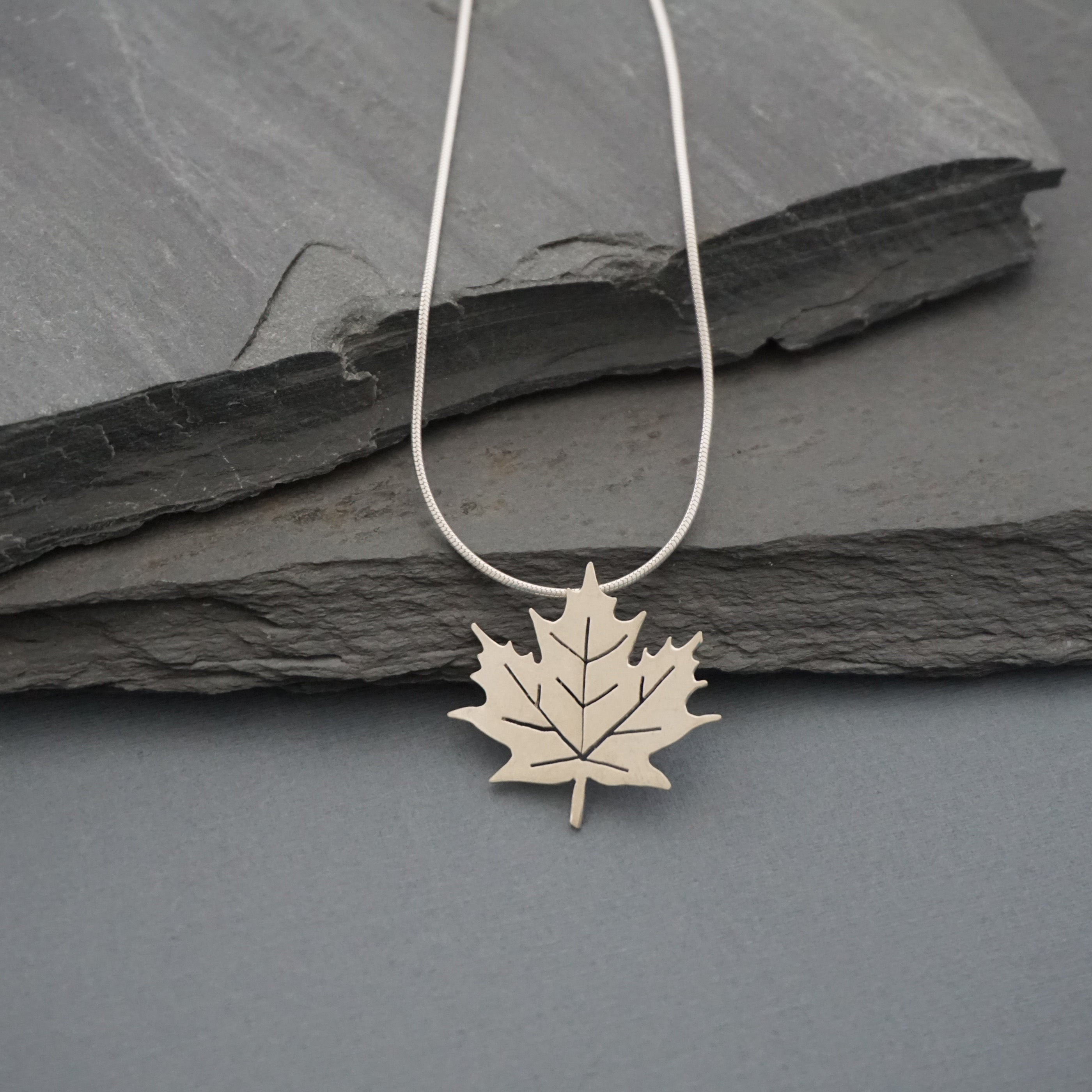 Large Maple Leaf Pendant