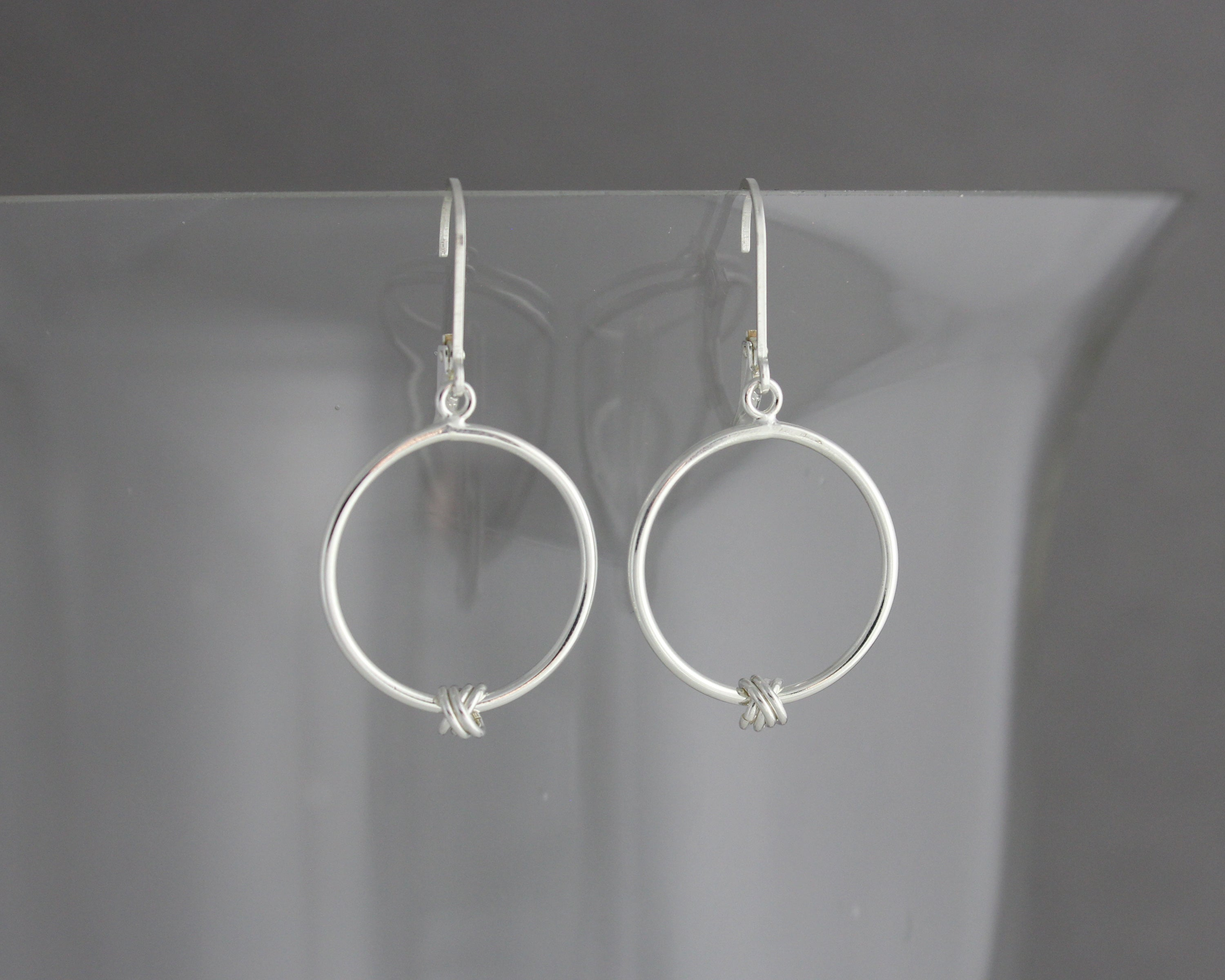 Monkeyfist Hoop Earrings