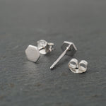 Solid Hexagon Studs