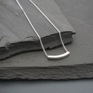 Dainty Square Tube Necklace