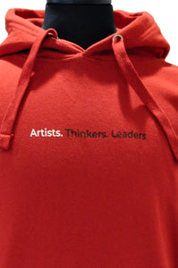 """Artists. Thinkers. Leaders"" Hoodie"