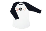 Load image into Gallery viewer, Peace Love Baseball Tee - Shop657