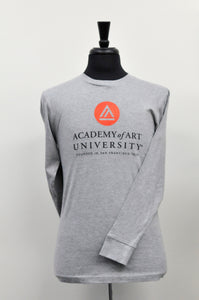 School Logo Long Sleeve Tee