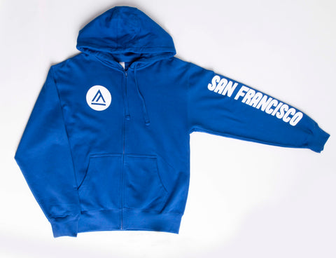 School of Fashion Zip Up Hoodie