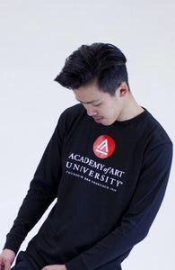 School Logo Long Sleeve Tee - Shop657