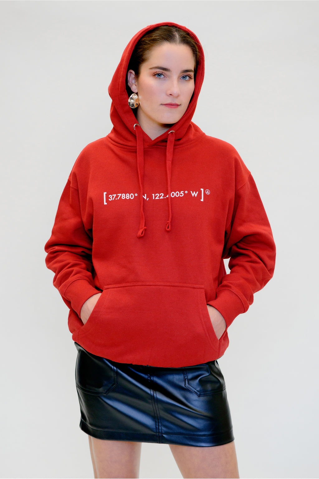[coordinates] Hooded Sweatshirt - Shop657