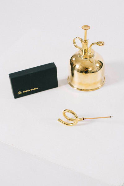 Brass Incense Holder (ii)