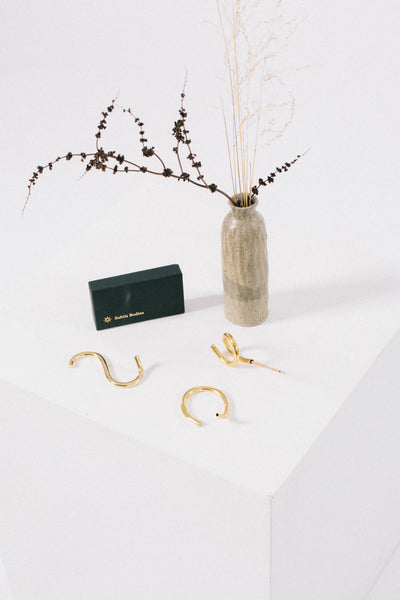 Subtle Bodies Brass Incense Holder - iii