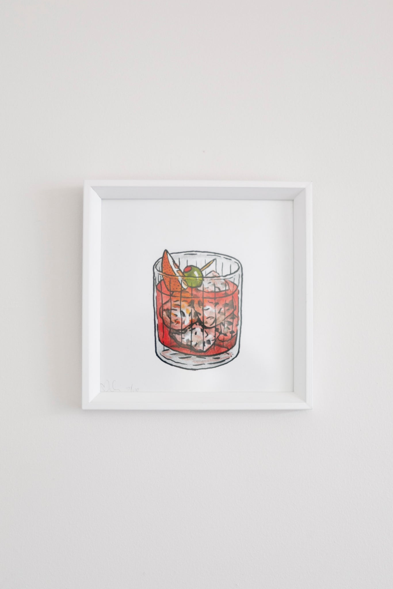 Small Spritz Limited Edition Framed Print - Billie Justice Thomson