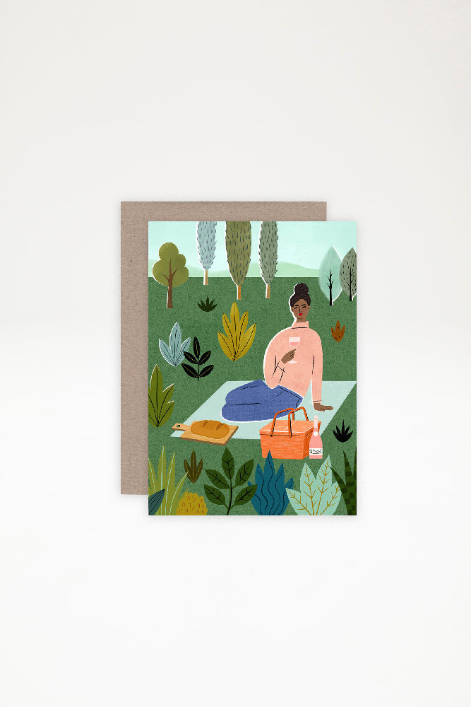 AHD Paper Co Greeting Card - Picnic