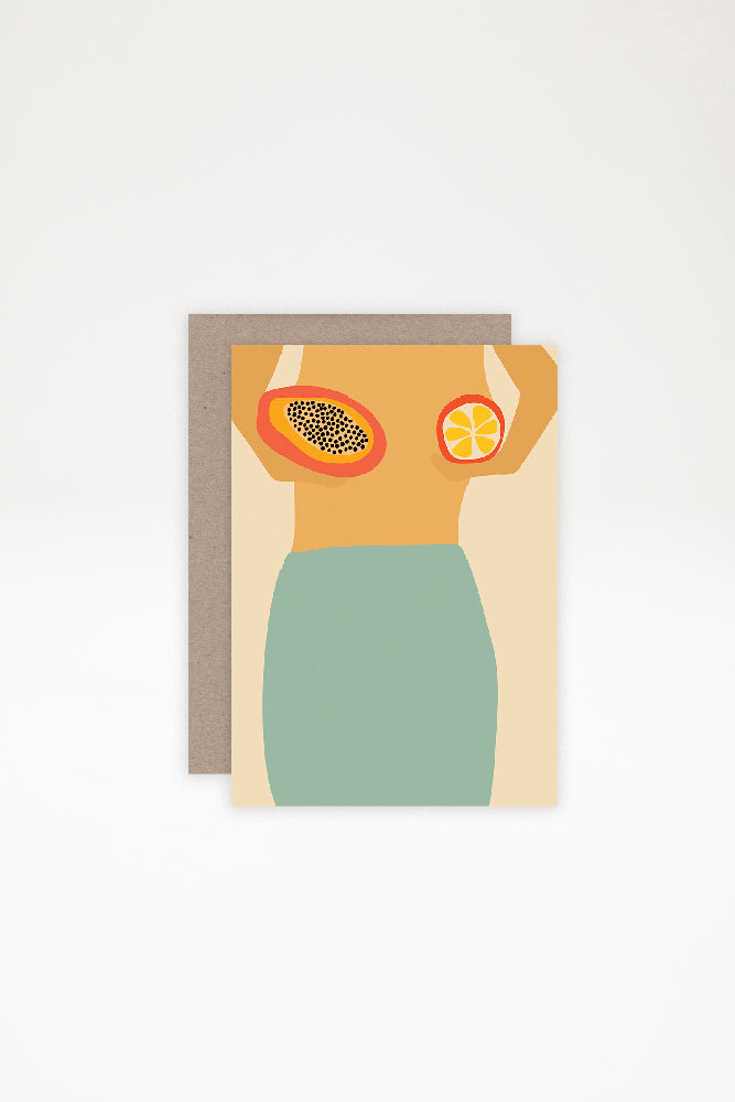 AHD Paper Co Greeting Card - Take Your Bra Off, Its The Weekend