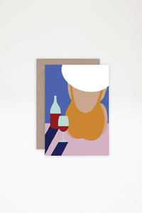 AHD Paper Co Greeting Card - Poolside