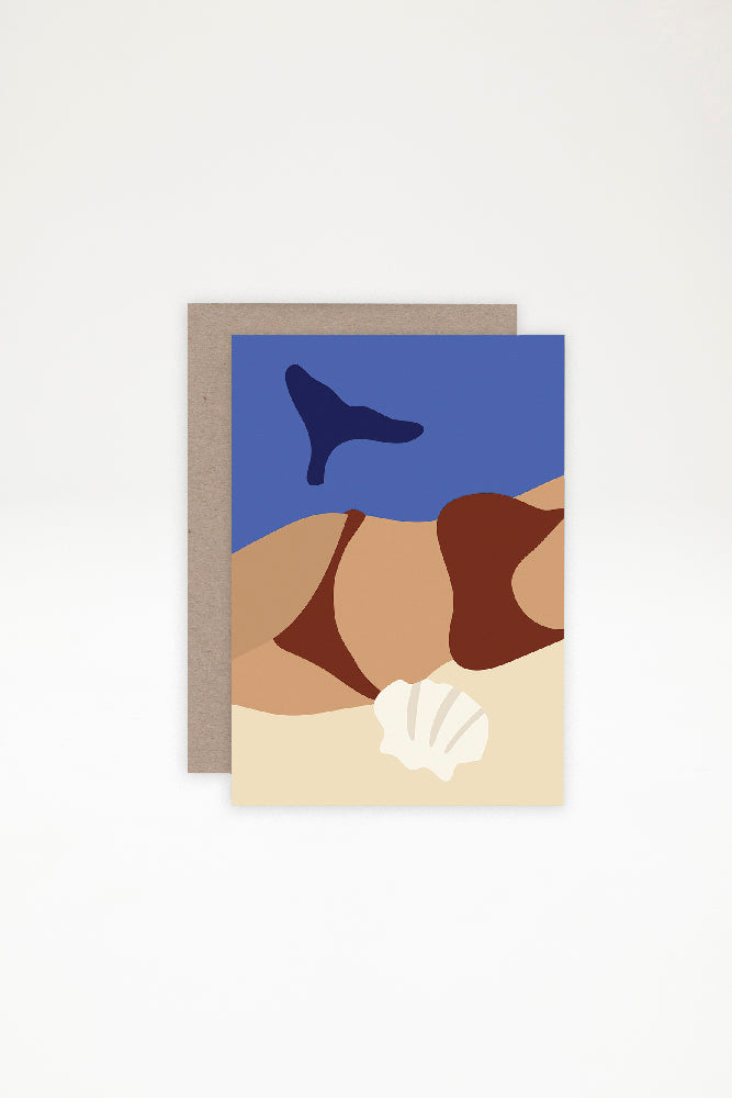 AHD Paper Co Greeting Card - Basking