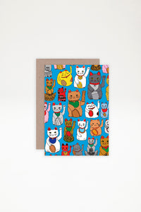 AHD Paper Co Greeting Card - Lucky Cat