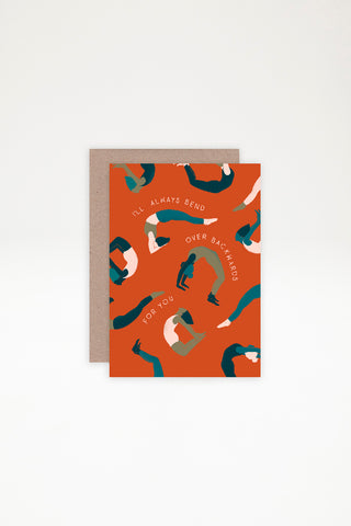AHD Paper Co Greeting Card - Backwards