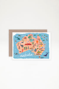 AHD Paper Co Greeting Card - Australia