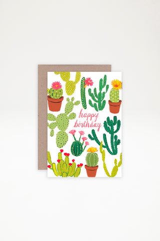 AHD Paper Co Greeting Card - Happy Birthday (BK)