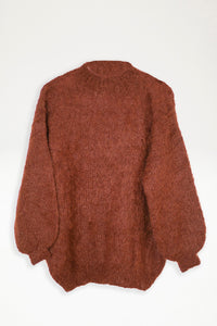 Alpaca Knit Jumper - Copper