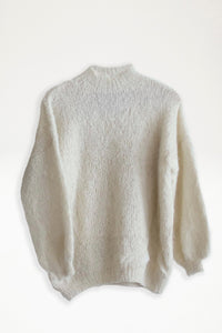 Alpaca Knit Jumper - Cream