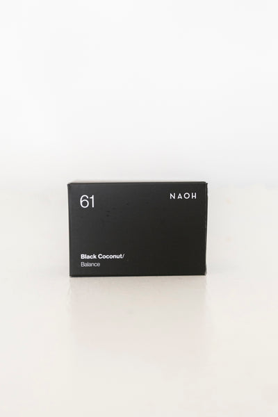 Naoh Soap - Black Coconut