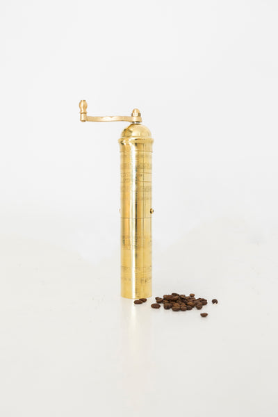 Alexander Mills - Brass Coffee Mill