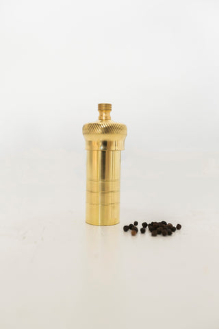 Alexander Mills - Brass Pepper Mill Small