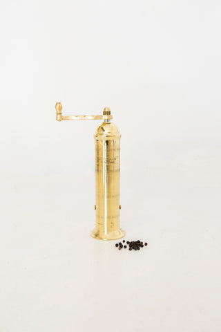 Alexander Mills - Brass Pepper Mill