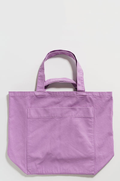Baggu Giant Pocket Tote - Washed Mixed Berry