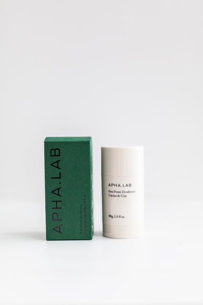 Alpha Lab Deodorant - Cactus & Clay
