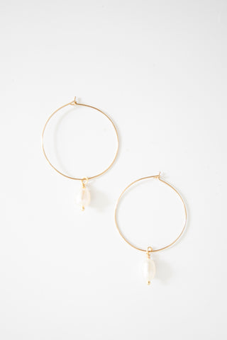 Ensemble - Pearl Hoops