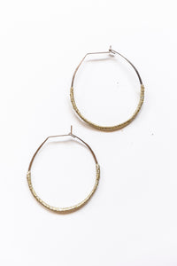 Lilly Buttrose - Woven Gold Earrings