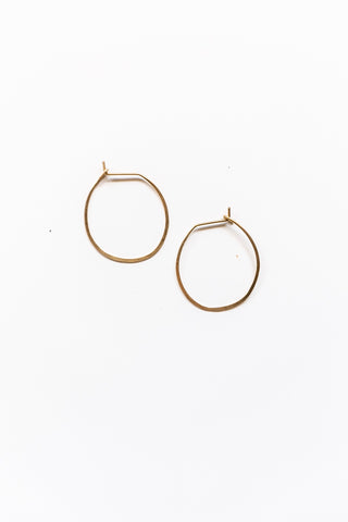Lilly Buttrose - Bare Hoop Earrings