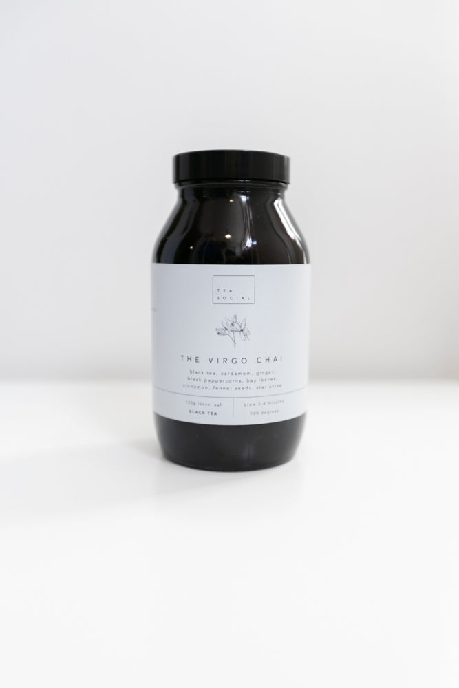 Tea Social - Virgo Chai Jar