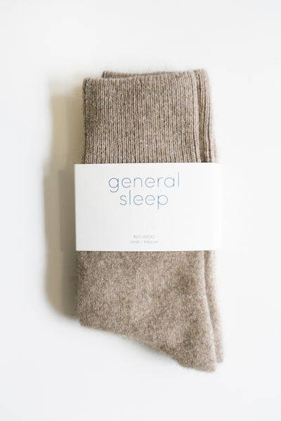 Bed Socks - Oatmeal