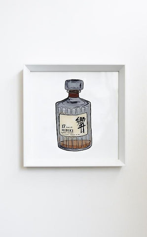 Billie Justice Thomson Limited Edition Framed Print - Whiskey