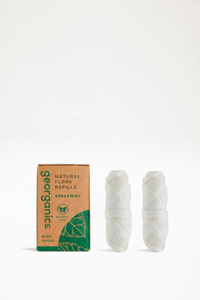 Georganics Natural Spearmint Floss - Refill
