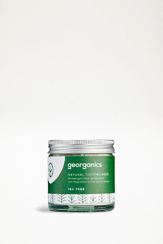 Georganics Natural Toothpowder - Tea Tree