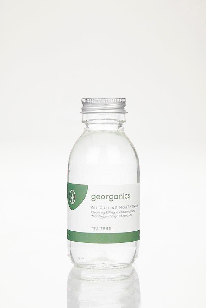 Georganics Oil Pulling Mouthwash - Tea Tree