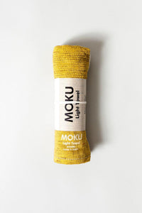 Moku Light Hand Towel - Mustard