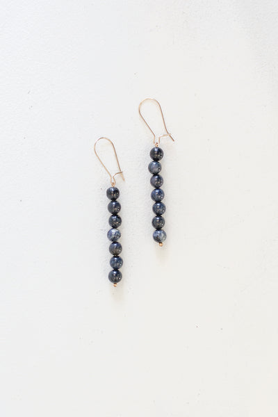 Ensemble Droplet Earrings - Various Gemstones