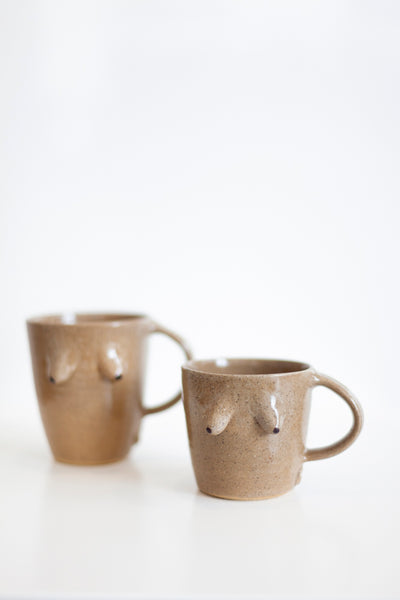 Boob Cup - Brown Clay