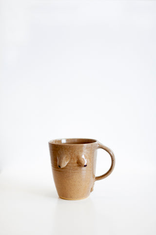 Maddie Deere Boob Mug - Brown Clay